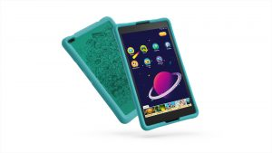 04_TAB4_8inch_HD_with_Kids_Bumper_Blue_Hero_Front_facing_right_Black