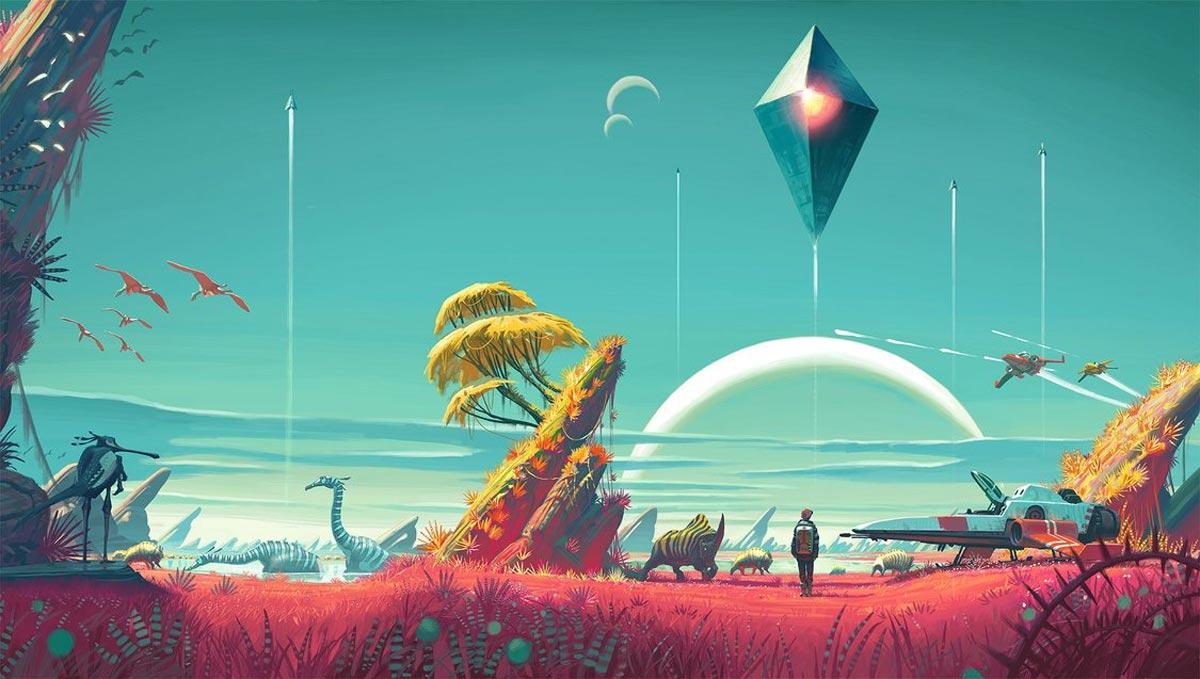 No Man's Sky é anunciado para Xbox One