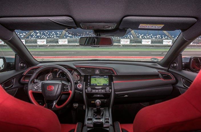 Honda Civic Type R (interior)