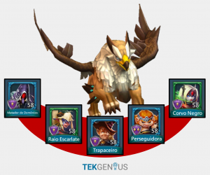 Lords mobile - Grifo (Gryphon) heróis caça (hunt heroes)