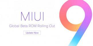 MIUI 9 Global Beta