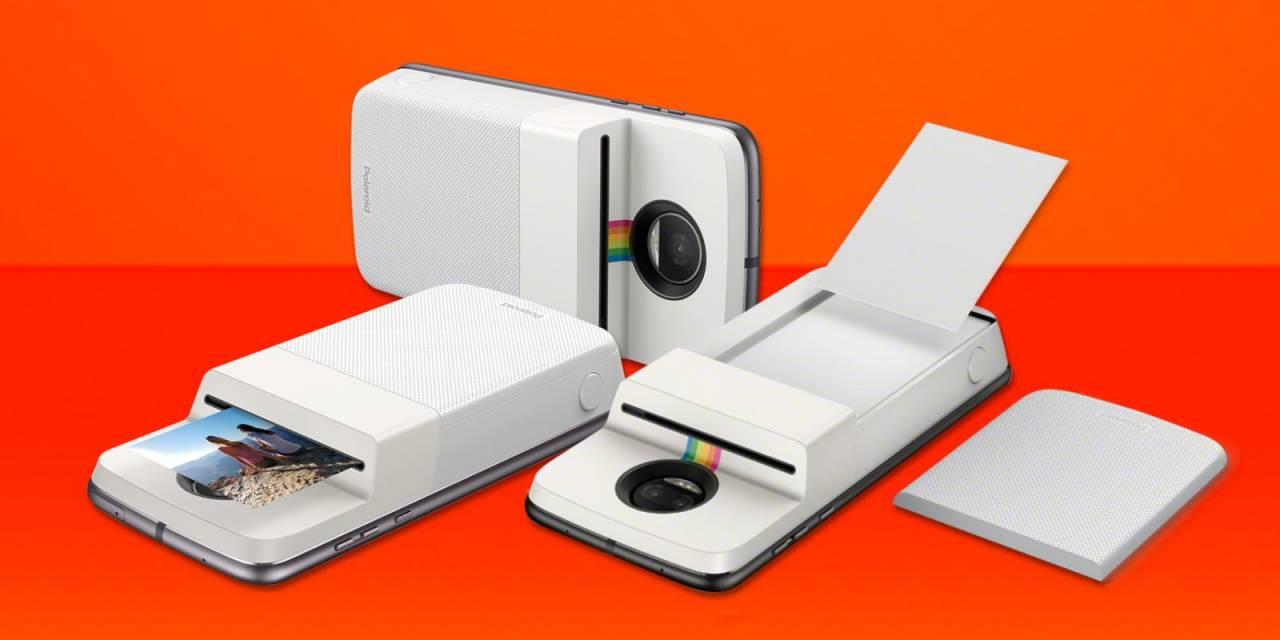 Motorola anuncia módulo da Polaroid que imprime fotos na hora